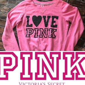 Victoria's Secret Love Pink Sweat Shirt
